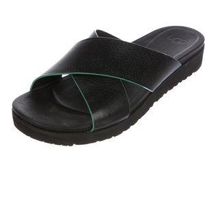 UGG AUSTRALIA Kari Leather Sandals